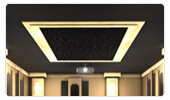 Fiber Optic Star Paneling for Home Theaters