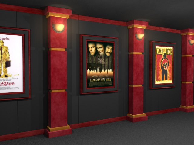 Image Gallery home theater columns