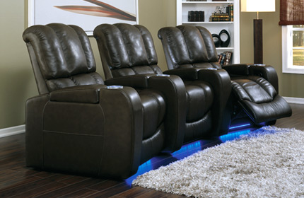 Palliser Channel 41401 Home Theater Seats