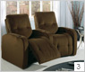 Palliser Auxiliary 41450 Home Theater Seating