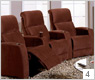 Palliser HiFi 41453 Home Theater Seating