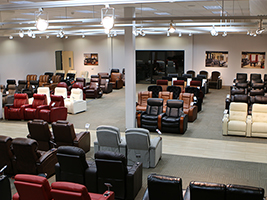 Largest Showroom in the L.A. / Orange County area.