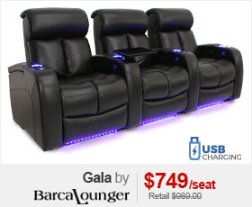 Barcalounger Gala Home Theater Seating