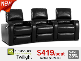 Klaussner Twilight Movie Chairs