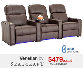Seatcraft Venetian Media Room Chairs