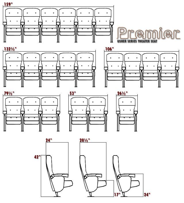 Auditorium Seating Dimensions Quotes
