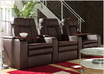 Bellagio Home Theater Seating by Seatcraft