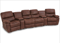 Seatcraft Bismarck Home Theater Sectional