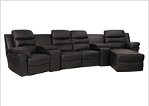 Seatcraft Genesis Home Theater Sectional